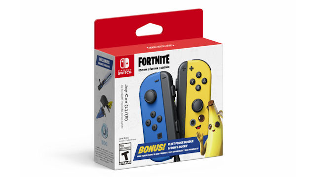Fortnite-themed Joy-Cons coming to Switch
