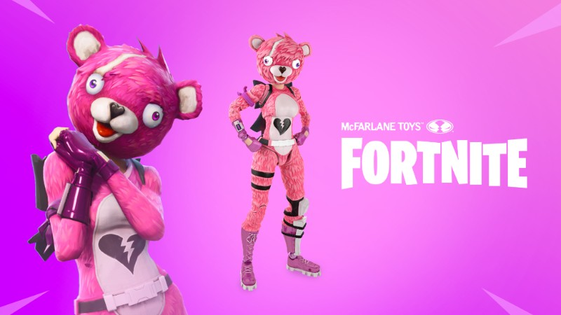 Fortnite inspires collectible figure line