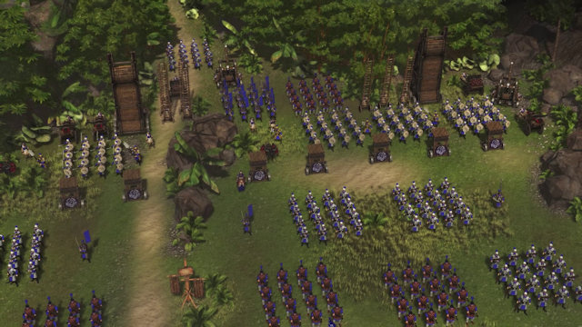 Stronghold: Warlords to include Free Build mode