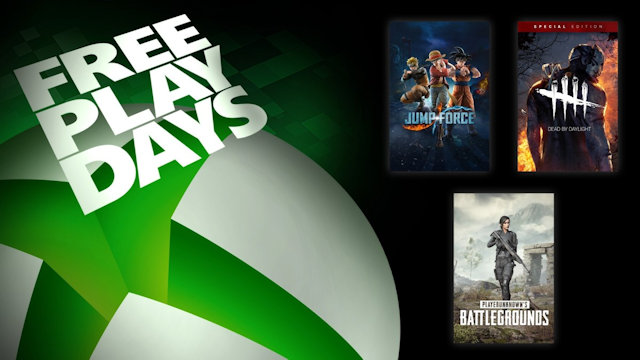 Jump into free games this weekend on Xbox