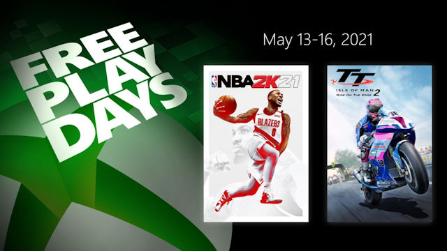 NBA 2K21 free to play this weekend on Xbox