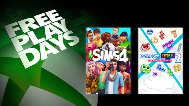 Play Sims and Tetris for free this weekend