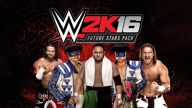 Future Stars arrive on WWE 2K16 today