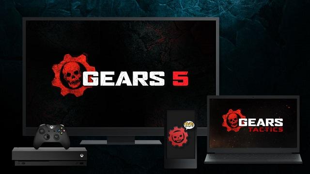 Three Gears of War games announced at E3