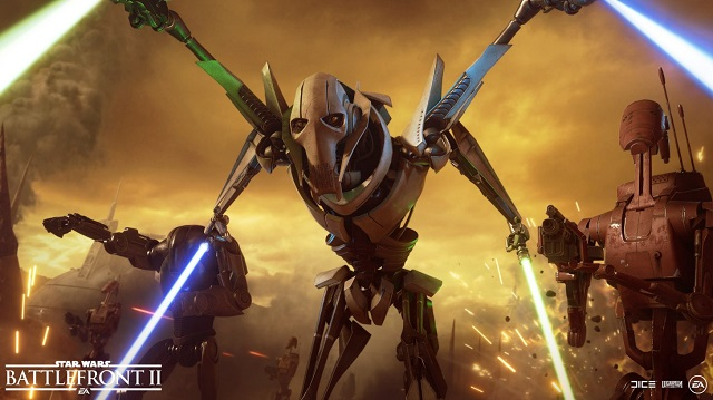 General Grievous coming to Star Wars Battlefront II