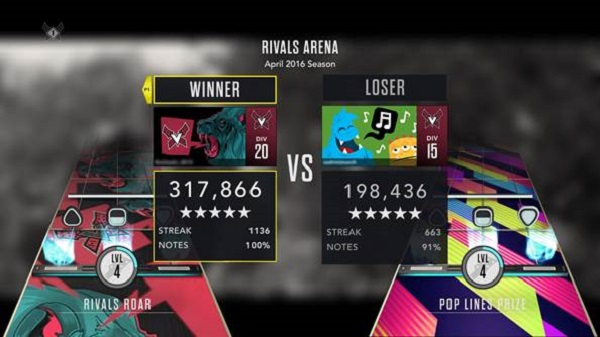 Guitar Hero Live reveals Rivals Arena