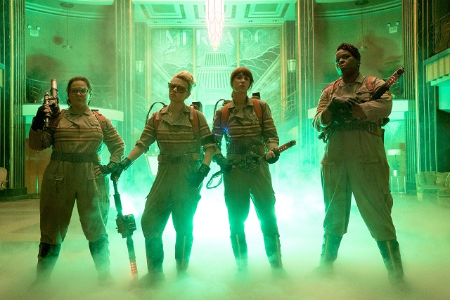 First shot of the new Ghostbusters released