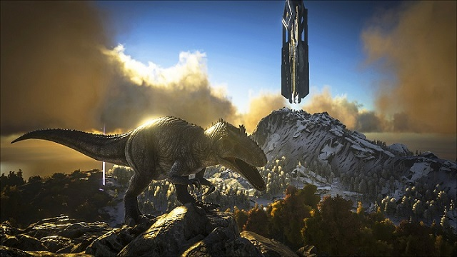ARK: Survival Evolved unleashes the Giganotosaurus
