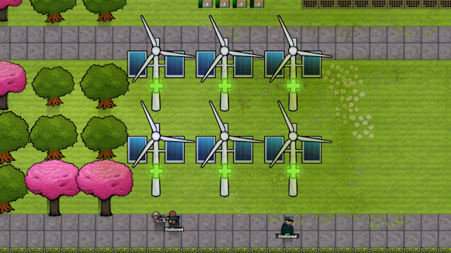 Prison Architect is going green