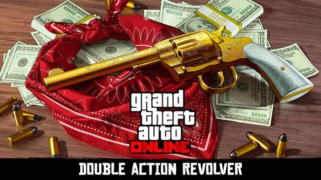 Earn the Double Action Revolver in GTAO for Red Dead Redemption 2 news image