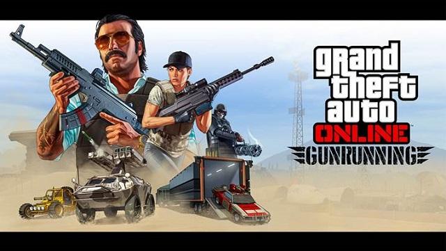 GTA Online is now Gunrunning