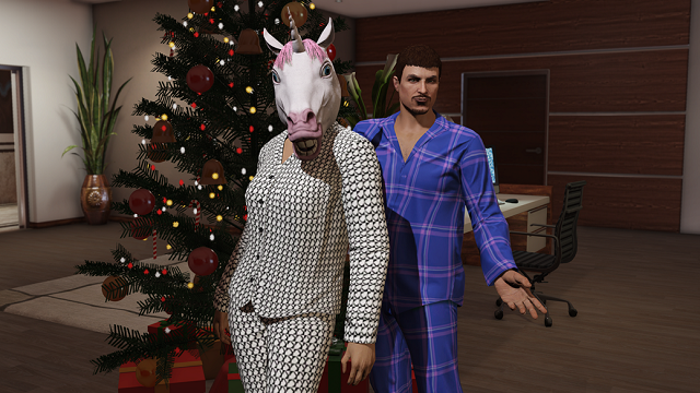 GTA Online has a Festive Surprise for gamers