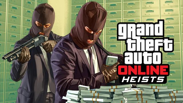 GTAV adds online heists