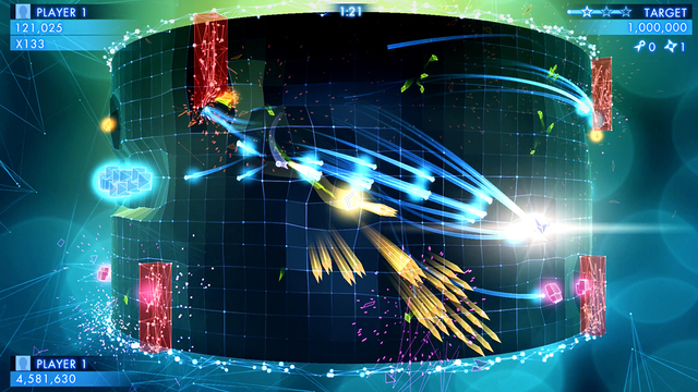 Geometry Wars 3: Dimensions hits iOS