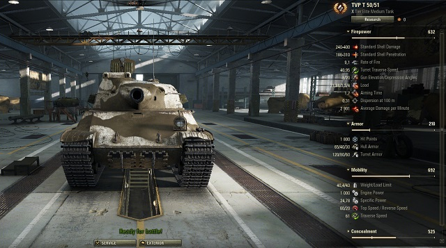 World of Tanks releases an update for the players