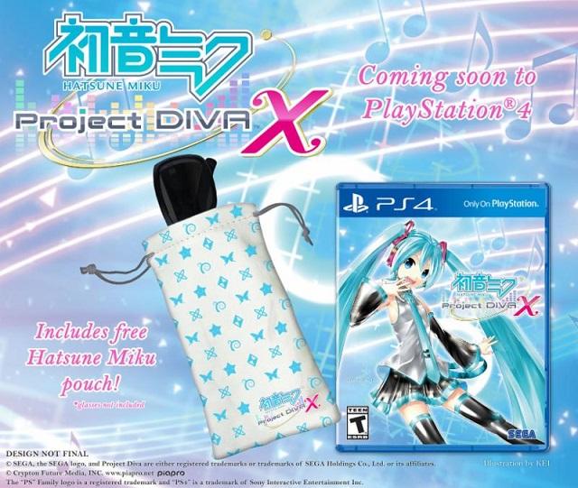 Hatsune Miku: Project DIVA X pre-order bonus revealed