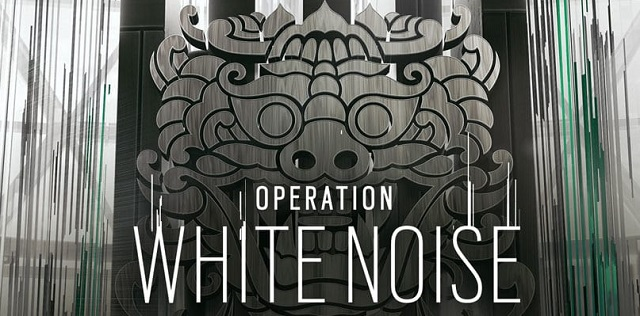 Rainbow Six Siege sounds out White Noise