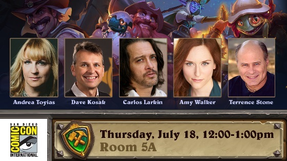 Hearthstone heading to SDCC 2019