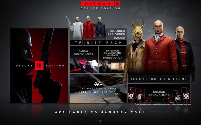 IO Interactive unboxes HITMAN 3 Deluxe Edition