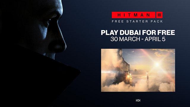 HITMAN 3 releases free starter pack