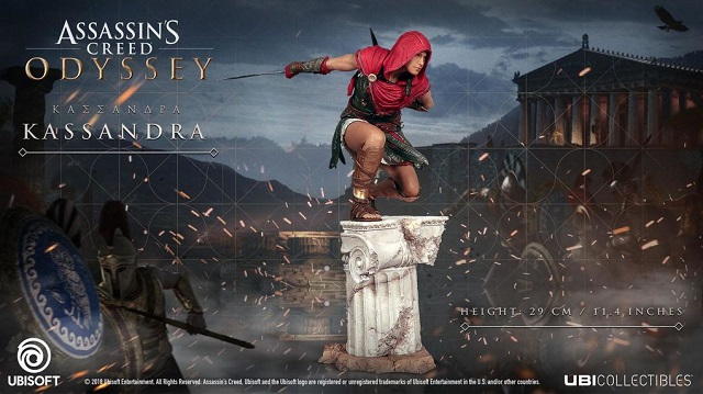 Assassin's Creed Odyssey collector's editions and collectibles revealed