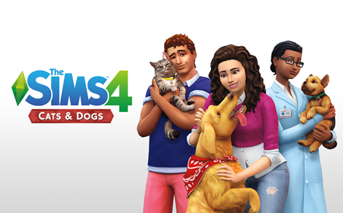 It's raining Cats & Dogs in The Sims 4