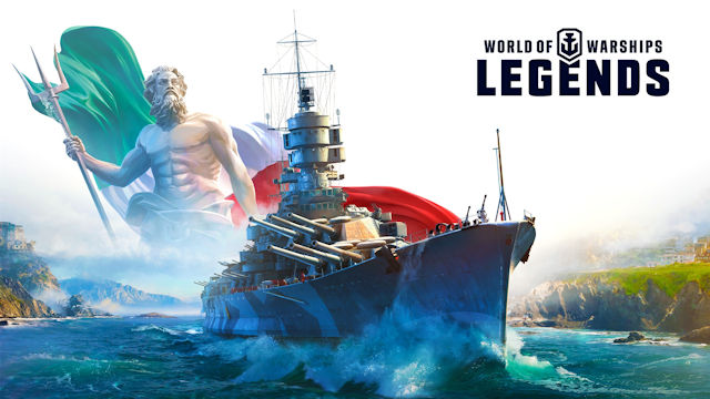 Italian warships join World of Warships: Legends
