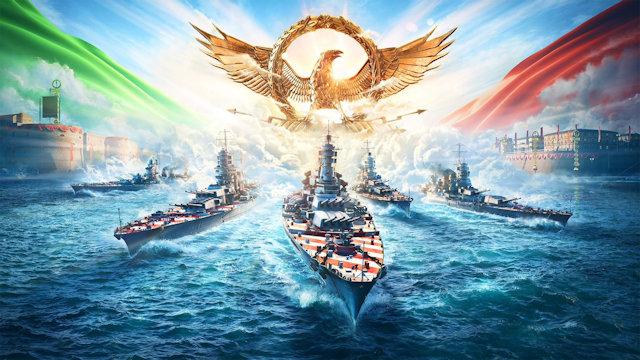 World of Warships brings Italian battleships into Early Access