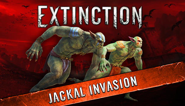Extinction invaded by jackals