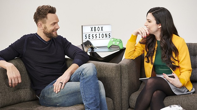 Watch Joel McHale play Devil May Cry 5