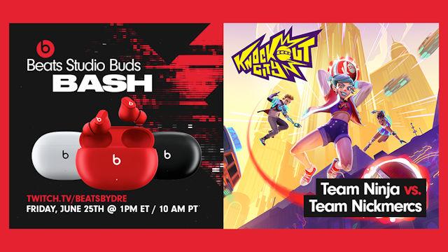 Knockout City hosting Beats Studio Buds Bash