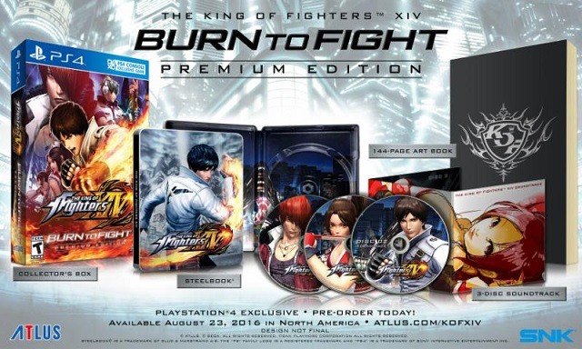 The King of Fighters XIV Premium Edition contents revealed