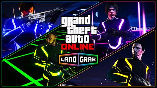 GTA Online unleashes Land Grab