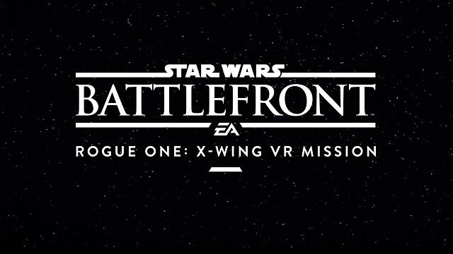 Criterion Games talks Star Wars Battlefront VR at gamescom 2016