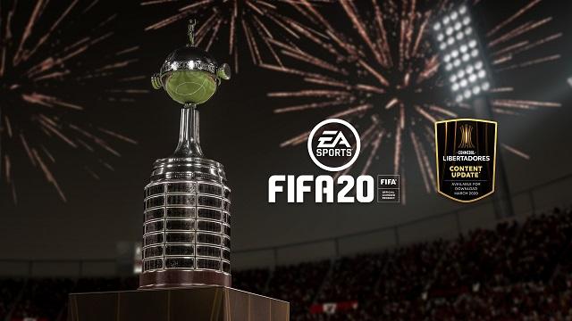 CONMEBOL Libertadores joining FIFA 20