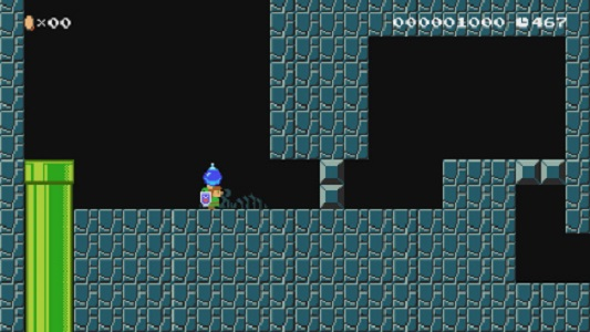 Link is joining Super Mario Maker 2