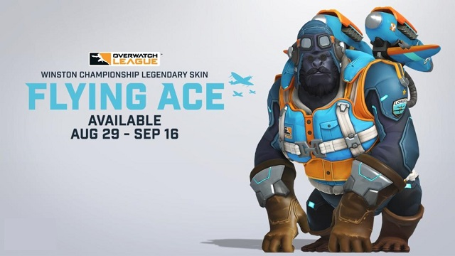 London Spitfire in-game championship skin revealed