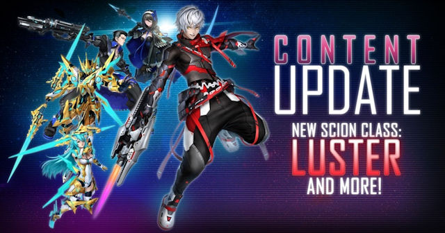 Phantasy Star Online 2 adding some Luster
