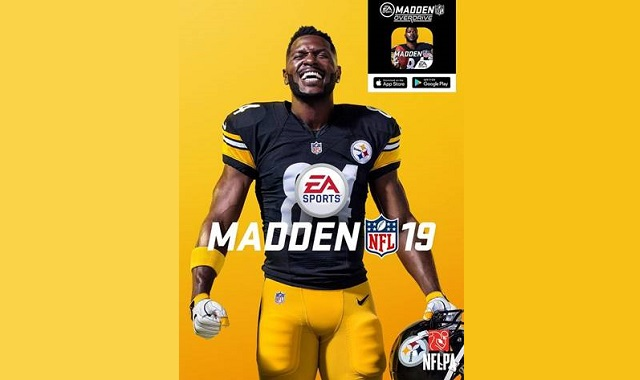 Madden NFL 19 picks cover athlete
