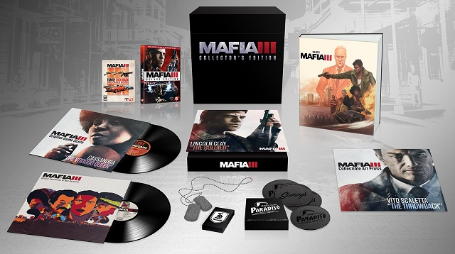 Contents of Mafia III Collector's Edition revealed