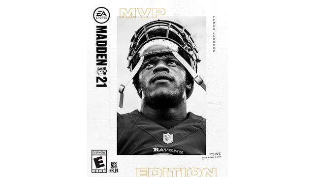 Lamar Jackson named Madden NFL 21 cover athlete