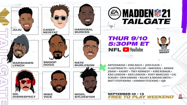 Madden NFL 21 hosting virtual tailgate and free play trial