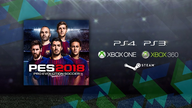 PES 2018 teams up with the ICC
