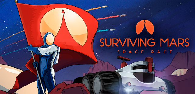 Surviving Mars launching a Space Race
