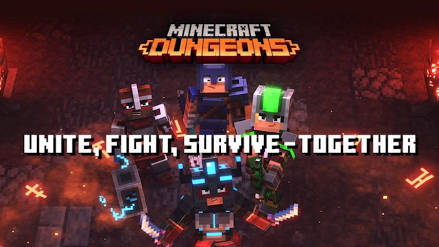 Minecraft Dungeons adds cross-play