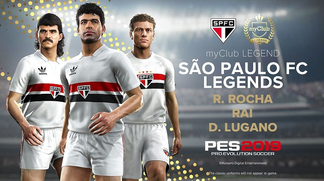 New Legend Players announced for PES 2019