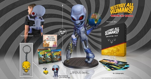Destroy All Humans collector's editions revealed