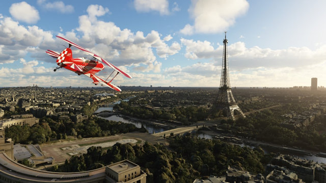Microsoft Flight Simulator flies to FRBENELUX
