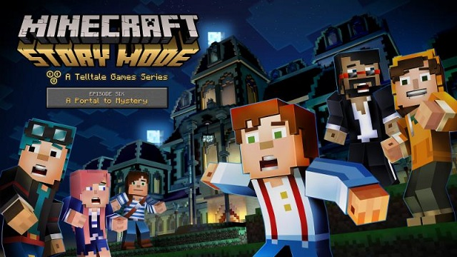 Minecraft: Story Mode opening a new portal