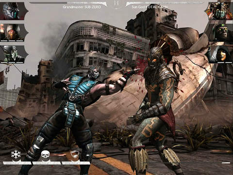 Mortal Kombat X hits iOS